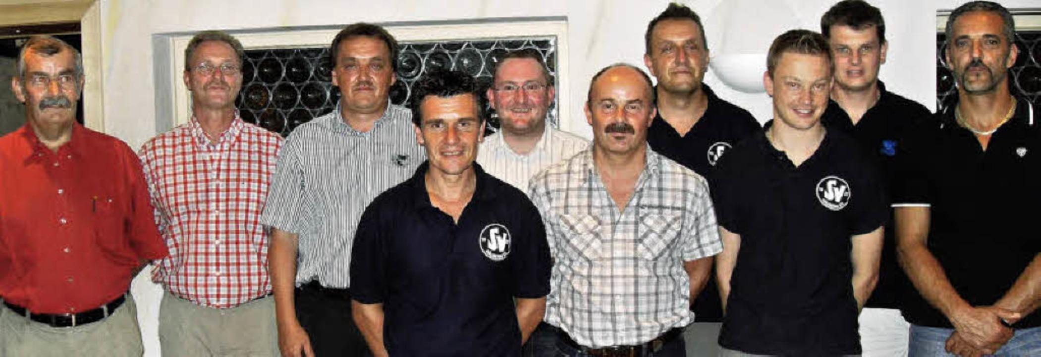 Leiten die Geschicke des  Vereins:  Ot...Weiler und Norbert Wilms (von links).     Foto: Siegfried Krex