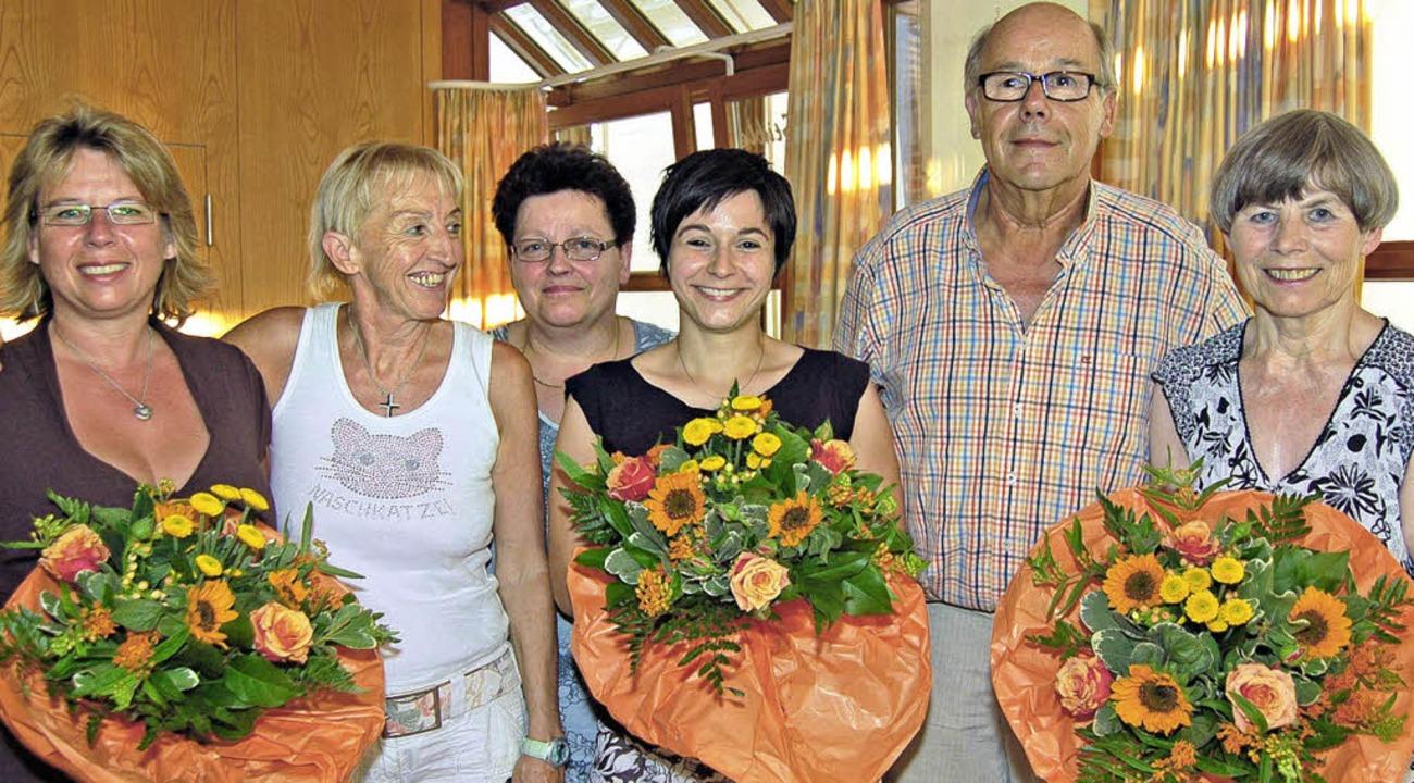 Der Vorstand der  AWO: Ina Pietschmann...er, und Franziska Koger, Kassiererin.     Foto: Vollmar