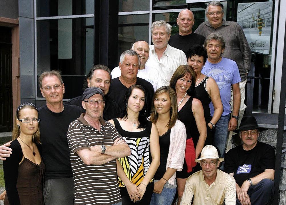 Musizieren zum Gedenken an Gerd &#8222...sky: junge und jung gebliebene Musiker  | Foto: peter heck