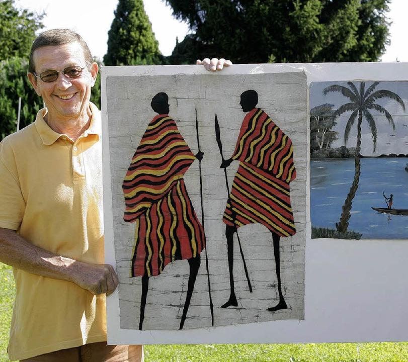 Heute wird Kurt Fricker 70 Jahre alt &...sich Spenden für seine Hilfsprojekte.   | Foto: Peter Heck
