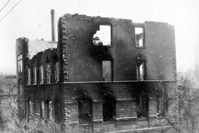 Fotos: Die Kriegsschäden in Lahr