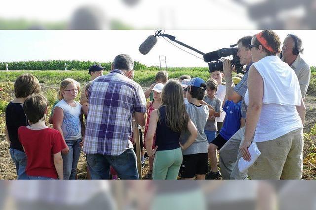 Schulprojekt als TV-Thema