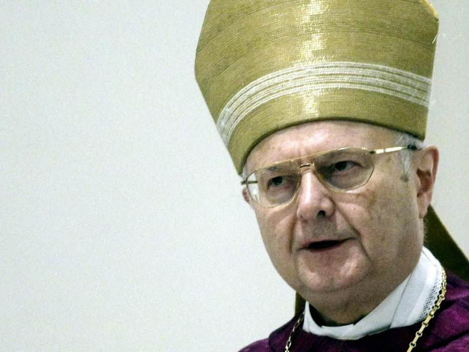 Erzbischof Robert Zollitsch  | Foto: ddp