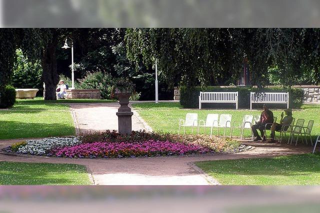 100 Jahre Stadtgarten in Lenzkirch