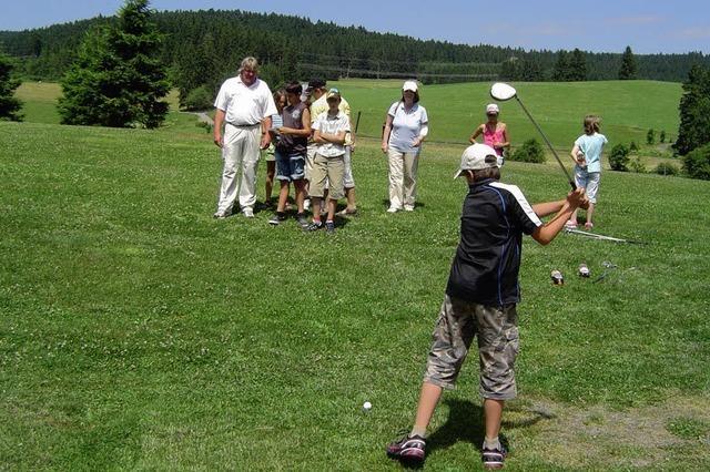 Golfen bis die Schläger glühen