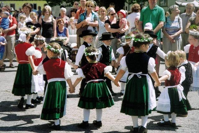 Tradition im Klosterhof