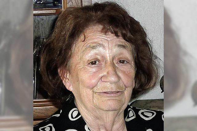 Renate Münning wurde 80 Jahre