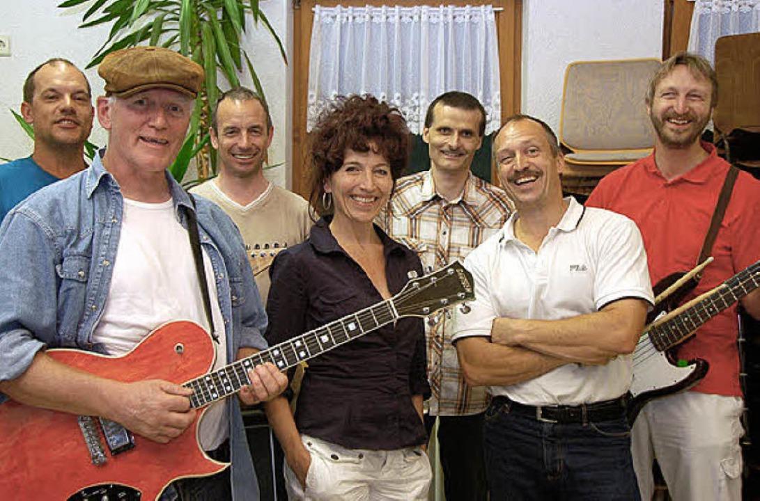 """Am Sonntag rockt die Gruppe """"FaltenRock"""" die Pfadibühne.    Foto: Kathrin Blum"""