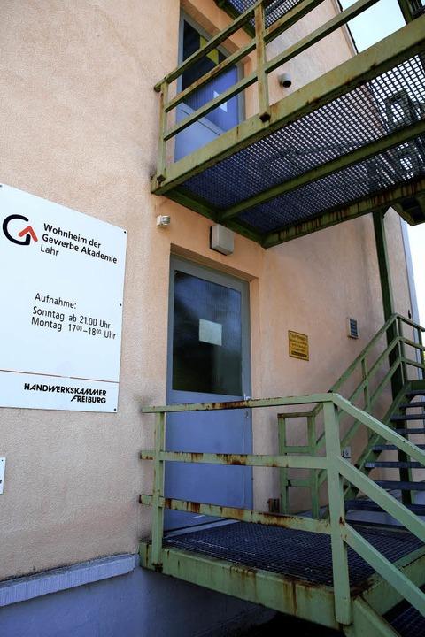 Das Wohnheim der Malerfachschule in de...erbe Akademie Mieter ist, ist marode.   | Foto: christoph breithaupt