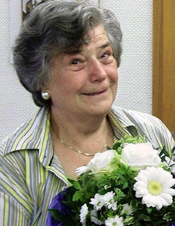 Anni Ringwald ist 500. Mitglied des VdK Waldkirch.   | Foto: sylvia timm