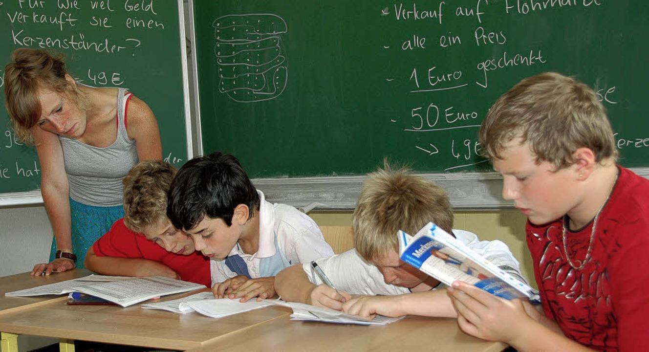 Die  Schule der Jugendhilfe Kirschbäum...nstelle in der Grundschule Buggingen.   | Foto: Sigrid umiger