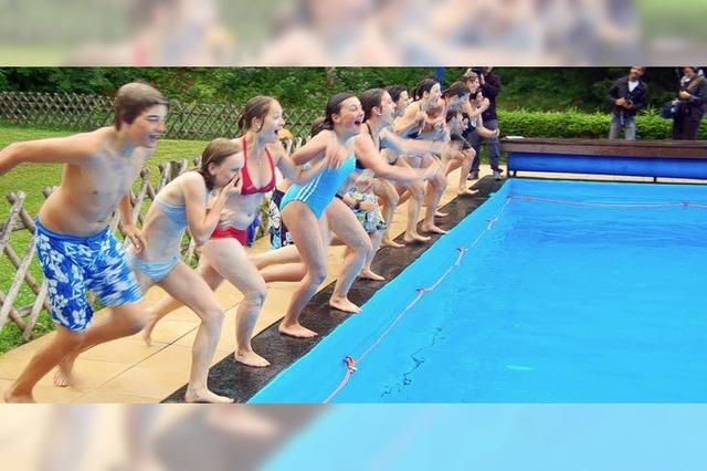Wettschwimmen der Vereine