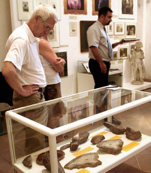 Achate und mehr – die Ausstellung birgt Überraschungen.  | Foto: Erika Sieberts