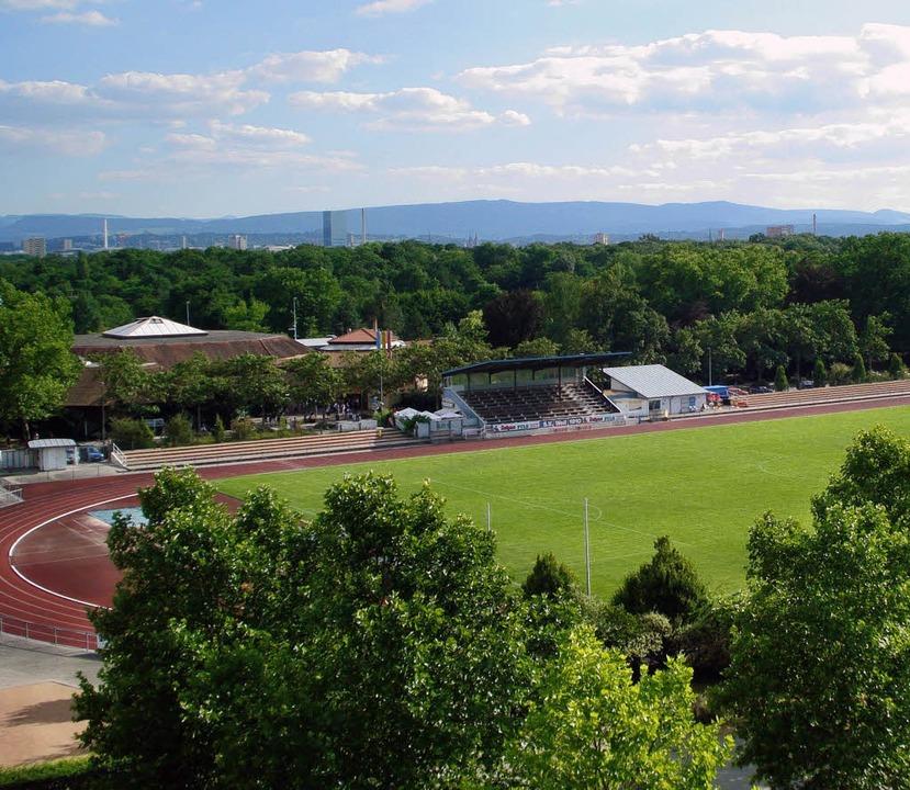 Das Stadion im Nonnenholz ist am Sonnt...ort des zweiten ESV-Schüler- Meetings.  | Foto: schlageter