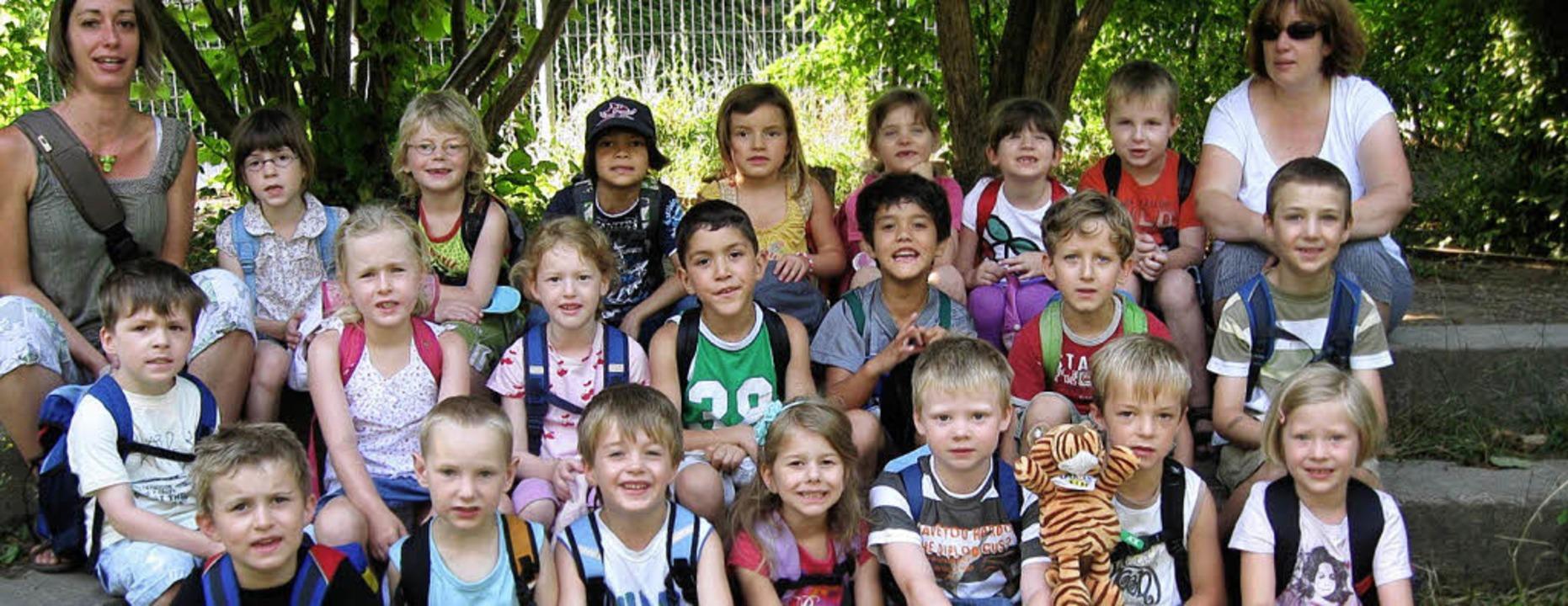 Der Tiger als Vorbild: Im Kindergarten...rzeit alles um Bewegung und Ernährung.    Foto: Privat