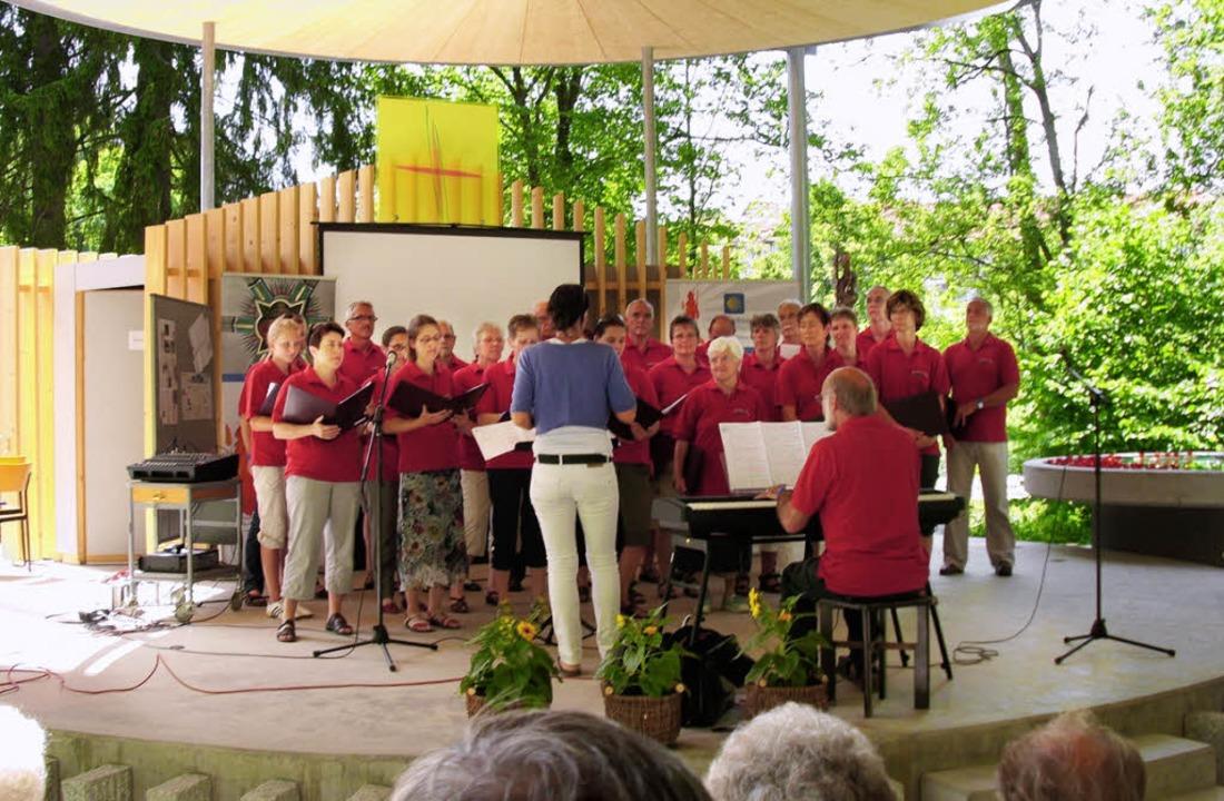 Viel Beifall erhielten die Holzener Sä...artenschau in Villingen-Schwenningen.   | Foto: bz