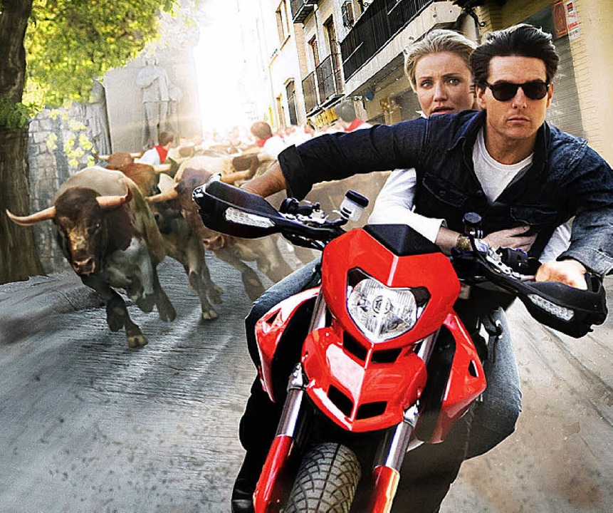 Flüchtend: Cameron Diaz, Tom Cruise  | Foto: fox