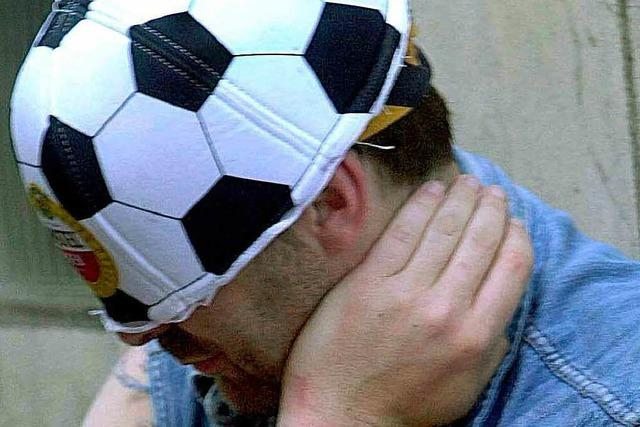 Befürchtete Randale beim Fußballspiel bleiben aus