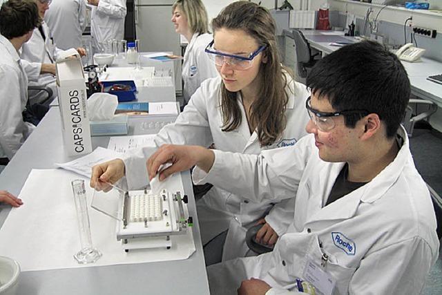 Gelungene Kooperation zwischen Schule und Industrie