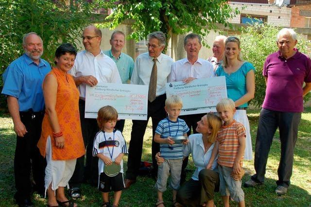 Spenden und Preisträger