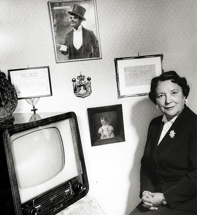 Nachkriegskarriere als Mutter Brandl    Foto: Valentin-Karlstadt-Musäum, München