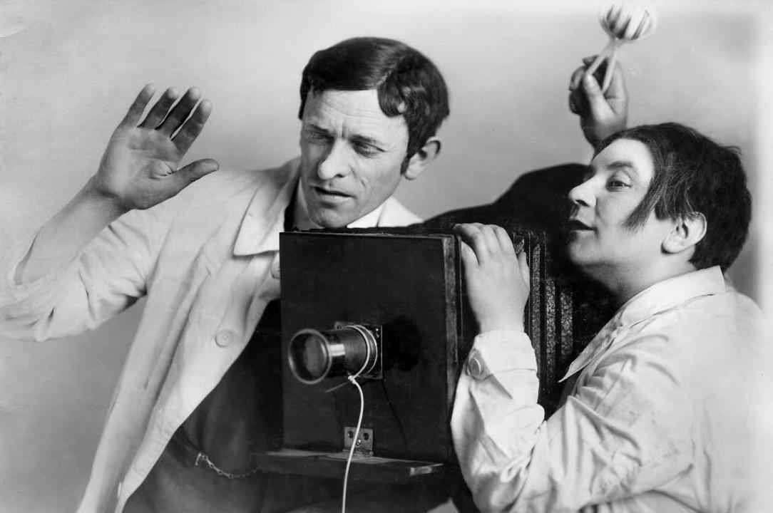 Komik mit anarchischem Anstrich: &#822...inem Kurzfilm mit Karl Valentin (1932)    Foto: valentin-karlstadt-musäum/ Andreas Steidel