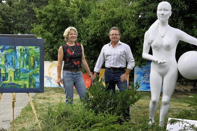 Mit 60 Jahren die Kunst entdeckt