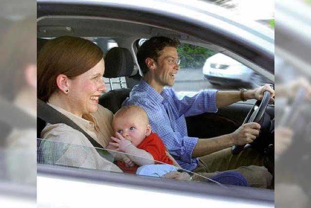 Guter Halt im Auto