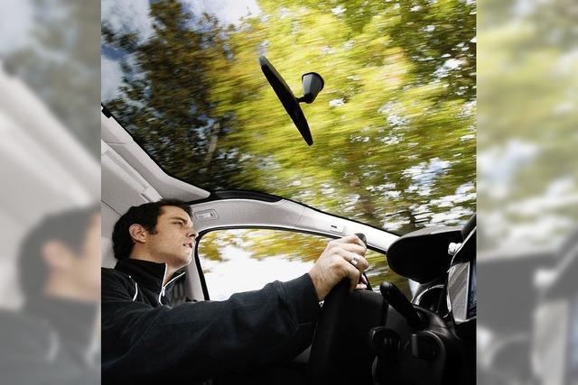 Autofahrt mit Aussicht