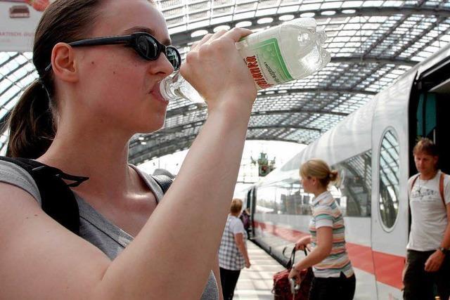 Geld ohne Attest: Bahn muss für Hitzepanne schwitzen