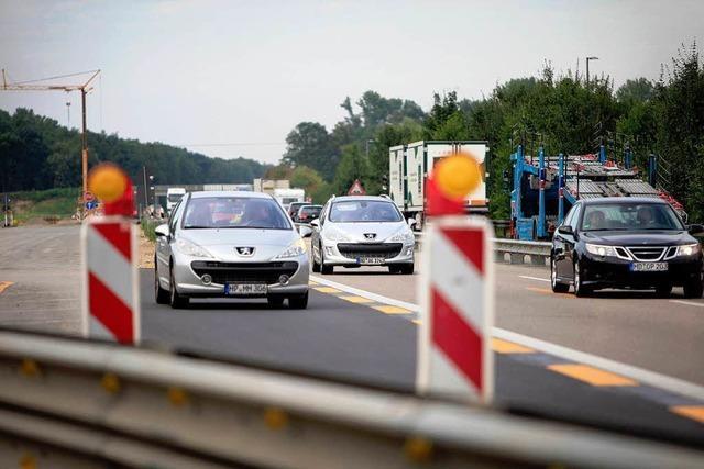 Vollsperrung am Samstag und Sonntag auf der Autobahn A5
