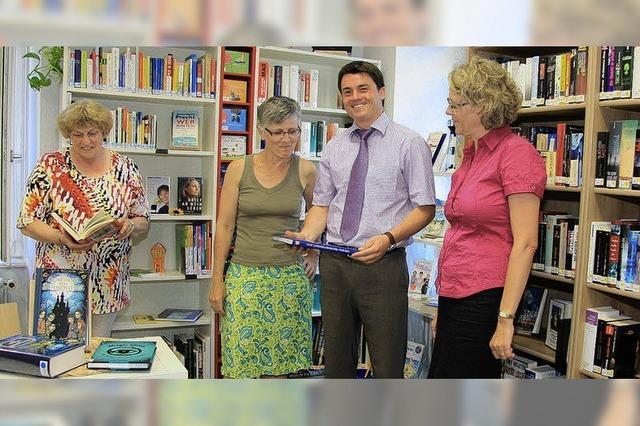 Kippenheim hat nun eine Bücherei