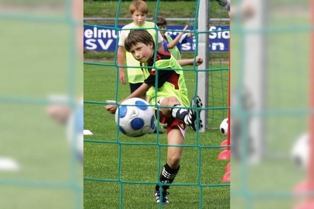 Beim Kicken im Verein geht's um mehr als Sport