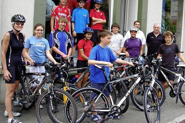 Radsporttraining bei Schülern begehrt
