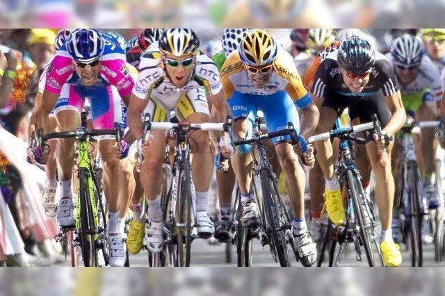 Vierter Tagessieg für Mark Cavendish