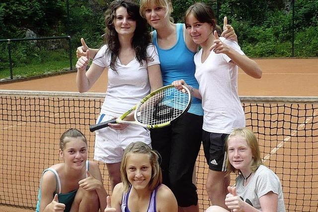 Juniorinnen auf Siegeskurs