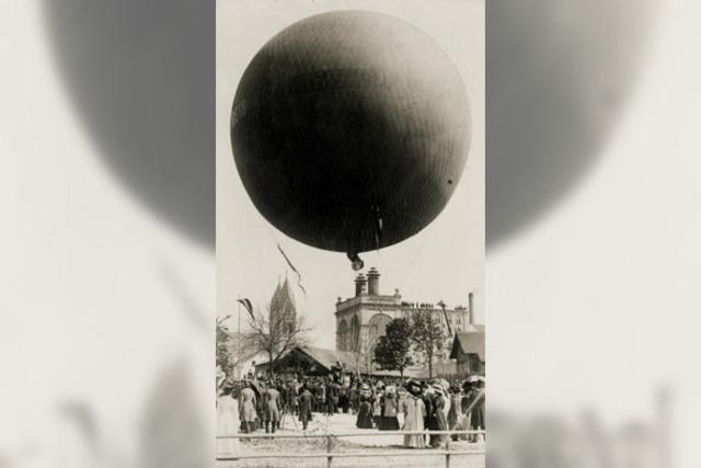 Luftballone starteten im Stühlinger