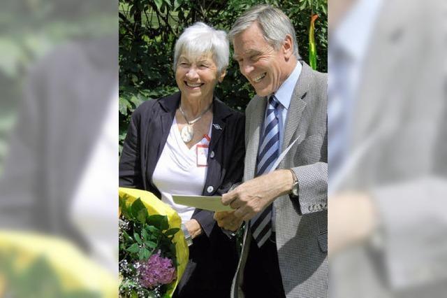 Das Land ehrt Anita Meier