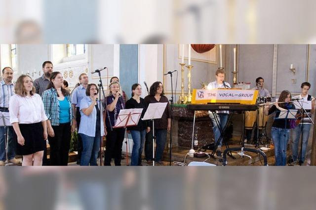Die Vocal Group schafft es, die Menschen zu berühren