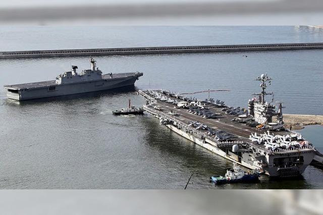 Großmanöver im Japanischen Meer: Ungewissheit bis zum Mittwoch