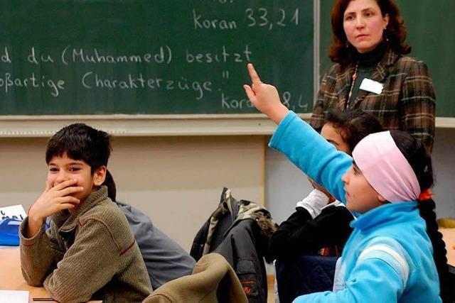 Islamunterricht auch an den Hauptschulen