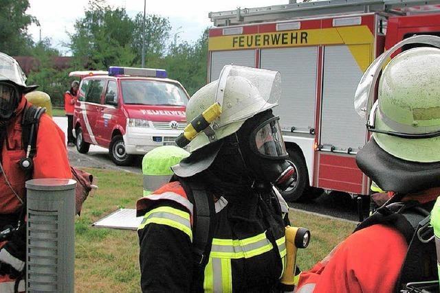 Ein heißer Freitag für die Offenburger Feuerwehr