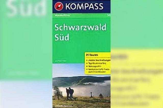 Schwarzwald Süd, Wanderführer mit Tourenkarten und Höhenprofilen