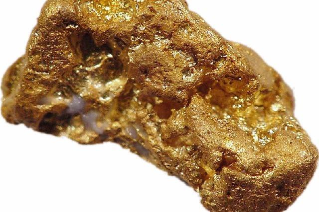 Gold suchen statt nackt baden