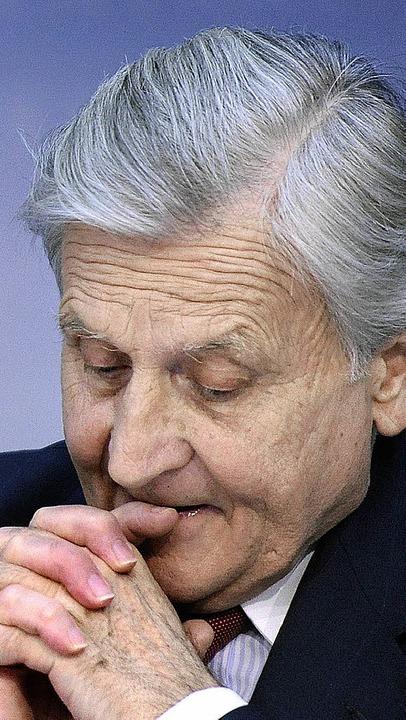 EZB-Chef Jean-Claude Trichet ist ein F...regelungen bei der Bankenregulierung.   | Foto: AFP