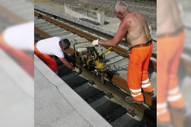 Ersatzverkehr auf der Rheintalbahn