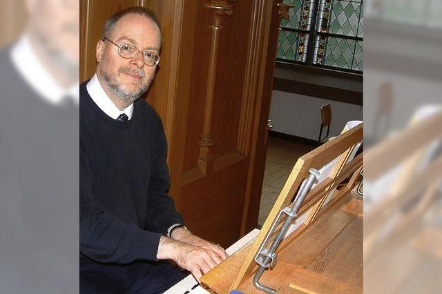 Ein wahrer Orgelkünstler zu Gast