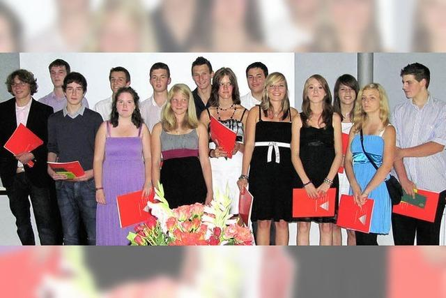 Abschied von der Hauptschule Sulzburg