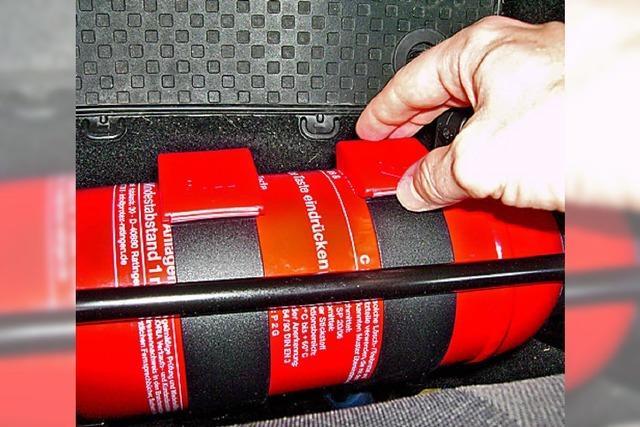 Pulver für den Notfall
