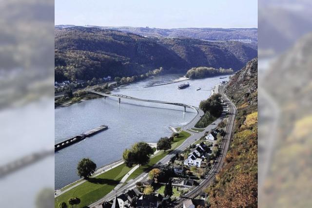 Mittelrheinbrücke: Weg frei für den umstrittenen Bau nahe des Loreleyfelsens